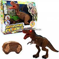 Динозавр игрушечный интерактивный «Тиранозавр» на радиоуправлении (звук, свет), 50 см (RS6123A)