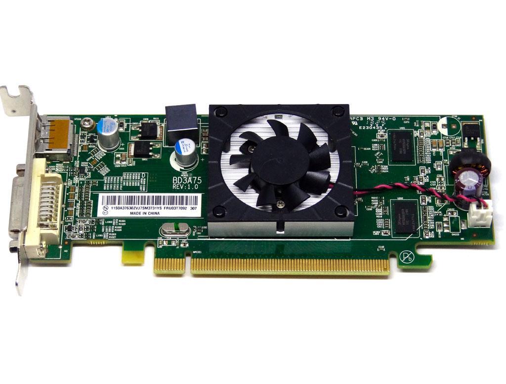 Відеокарта Lenovo HD 7450 1gb PCI-Ex DDR3 64bit (DVI + DP) низькопрофільна