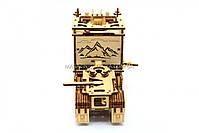 Деревянный механический конструктор Wood Trick Тягач.Техника сборки - 3d пазл, фото 3
