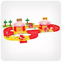 Детская дорога Kid Cars «Пожарная станция» (3,1 м.), фото 3