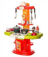 Детская игрушечная кухня с посудой (свет, звук, вода) 24 элемента 16808, фото 2