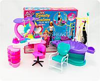 Детская игрушечная мебель Глория Gloria для кукол Барби Салон красоты 2509. Обустройте кукольный домик