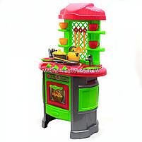 Детская игрушечная мебель Кухня арт.0915 (салатово-розовая), фото 3