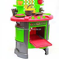 Детская игрушечная мебель Кухня арт.0915 (салатово-розовая), фото 5