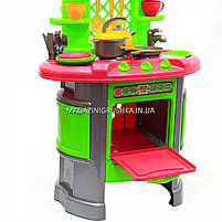 Детская игрушечная мебель Кухня арт.0915 (салатово-розовая), фото 10