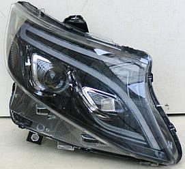 Фари Mercedes W447 Vito тюнінг Full Led оптика