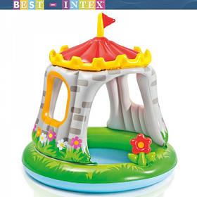 Детский бассейн Intex Королевский замок