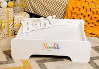 Детский световой планшет-песочница Noofik МДФ Базовый Белый (plb001mdf)