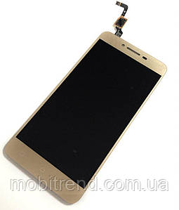 Дисплей Lenovo A6020a40 Vibe K5 complete Gold
