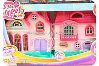 Детский игровой домик для кукол (свет, звук, мебель) 16526D, фото 2