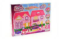 Детский игровой домик для кукол (свет, звук, мебель) 16526D, фото 3