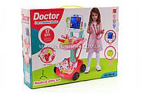 Детский игровой набор доктора 660-45 (свет, звук), фото 2