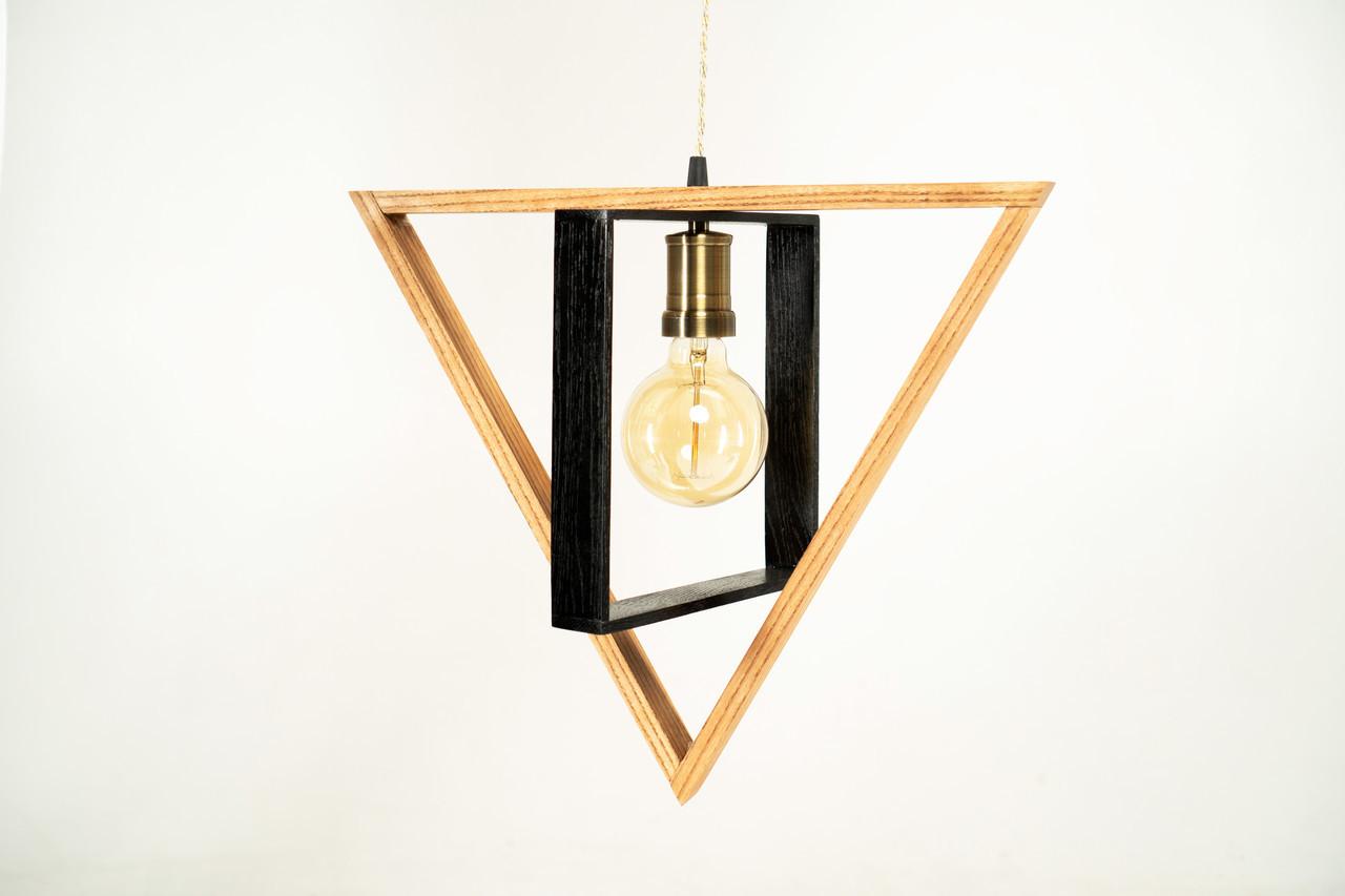 Дизайнерський підвісний світильник Pride&Joy із дерева