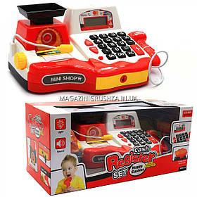 Детский кассовый аппарат (свет, звук, продукты, деньги), 30х18х16 см (35535B)