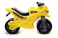 Детский Мотоцикл толокар Орион (желтый). Популярный транспорт для детей от 2х лет, фото 2