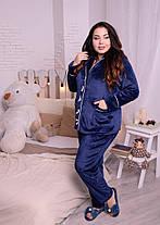 Элитный женский костюм для дома из плюшевой махры с 48 по 82 размер, фото 3