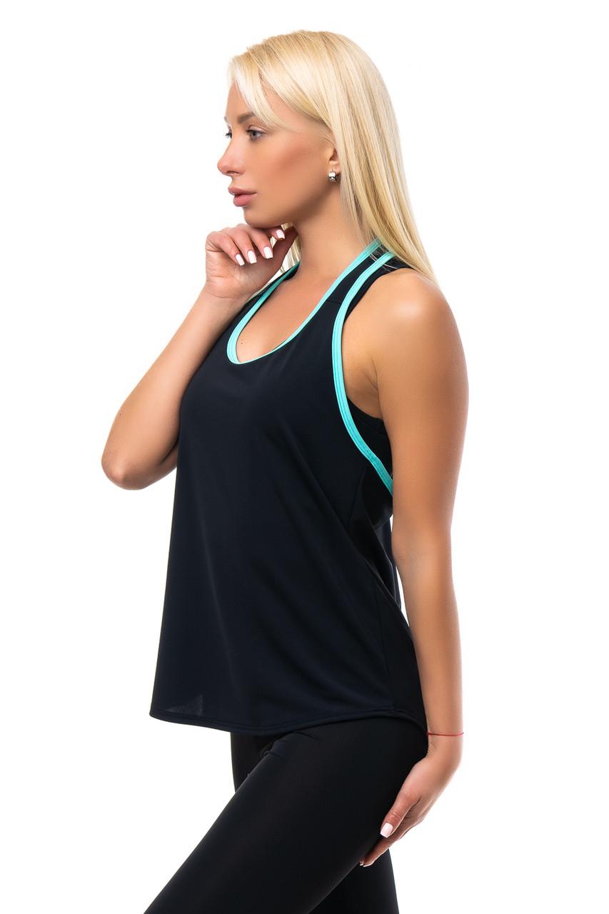 Женская борцовка с открытой спиной для ношения по верх топа
