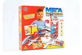 Детский паркинг «Мега Парковка» (5 этажей + кран) - 922-6