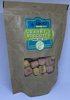 CROCI GRANNY'S BISCUITS печенье для собак мини дуо 350 г