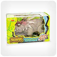 Динозавр «Triceratips» (ходит, издает реалистические звуки, свет), фото 3