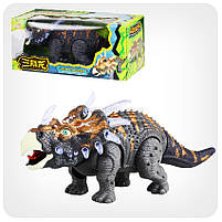 Динозавр «Triceratips» (ходит, издает реалистические звуки, свет), фото 5