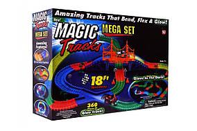 Детская гибкая игрушечная Дорога Magic Tracks 360 деталей (LD-4) (MD-1639)