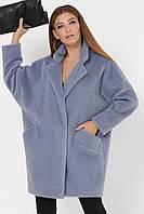 Модное женское демисезонное пальто оверзайз в 4х цветах PL-8854