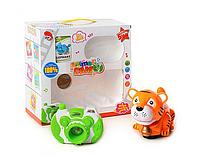 Игрушка животное тигр и фотоаппарат 2237