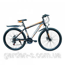 Велосипед Spark 27,5`` SHARP, рама - Сталь 19, Черный с оранжевым