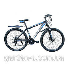 Велосипед Spark 27,5`` SHARP, рама - Сталь 17, Черный с синим