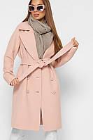 Стильне жіноче демісезонне пальто в 3х кольорах PL-8866
