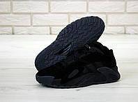 """Кроссовки замшевые мужские Adidas StreeBall """"Черные"""" адидас р. 41-45"""