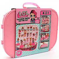 Игровой набор с эксклюзивной куклой L.O.L. Surprise! Показ мод - нежно-розовый (562696)