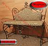"""Кований диван """"Маркіз"""" з м'яким сидінням, фото 2"""