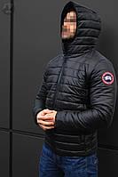 Весенняя Мужская Куртка Canada Черная Куртки Мужские Теплые Брендовые Канада