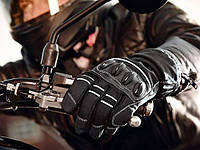 Мотоперчатки мужские Crivit (размер 9) черные, фото 1