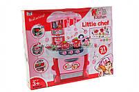 Ігровий набір «Дитяча кухня з посудом» (звук, світло) 008-801, фото 2