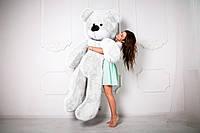 Плюшевый Мишка 220 см от Производителя Белый Медведь Большой Плюшевый Подарок