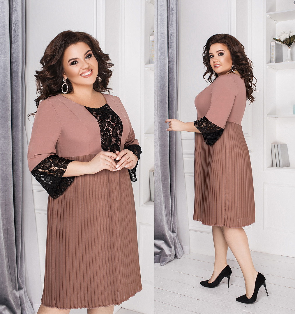 Женское платье большого размера.Размеры:48-62+Цвета