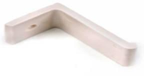 Кронштейны уголки для крепления подоконника пластиковые