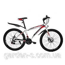 Велосипед Spark 26`` SHADOW, рама - Сталь 18, Нет (полностью разобраный), Крвсный с белым