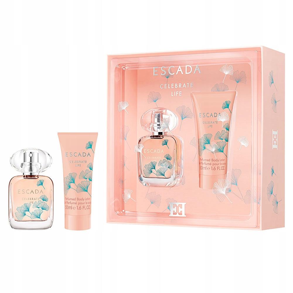 Женский подарочный набор ESCADA Celebrate Life парфюмированная вода 30ml + лосьон для тела 50ml, ОРИГИНАЛ