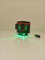 Лазерный уровень  Hilda 3d Green (зеленый луч) 12 линий (Deko, Fukuda, Xeast) горизонт внизу