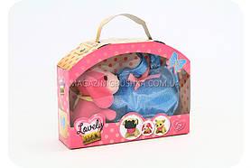 Игровой набор «Щенок с сумочкой» - розовый