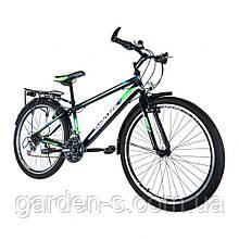 Велосипед Spark 26`` SPACE, рама - Сталь 18, Черный с зеленым, Нет (полностью разобраный)