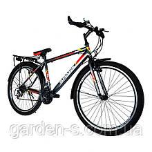 Велосипед Spark 26`` SPACE, рама - Сталь 15, Черный с оранжевым, Да