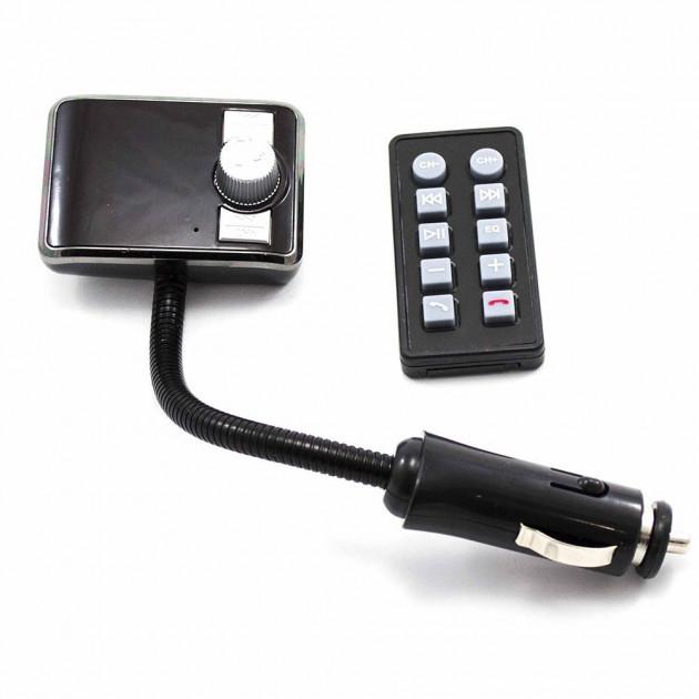 FM модулятор автомобильный 583 BT от прикуривателя ФМ модулятор трансмиттер