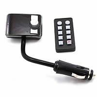 FM модулятор автомобильный 583 BT от прикуривателя ФМ модулятор трансмиттер, фото 1