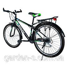 Велосипед Spark 26`` SPACE, рама - Сталь 15, Зелёный с синим, Да
