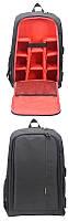 Профессиональная большой рюкзак для фотографа Ightpro 43x30x15,5 см ноутбук 15,6 дюймов лучше PULUZ PU5011